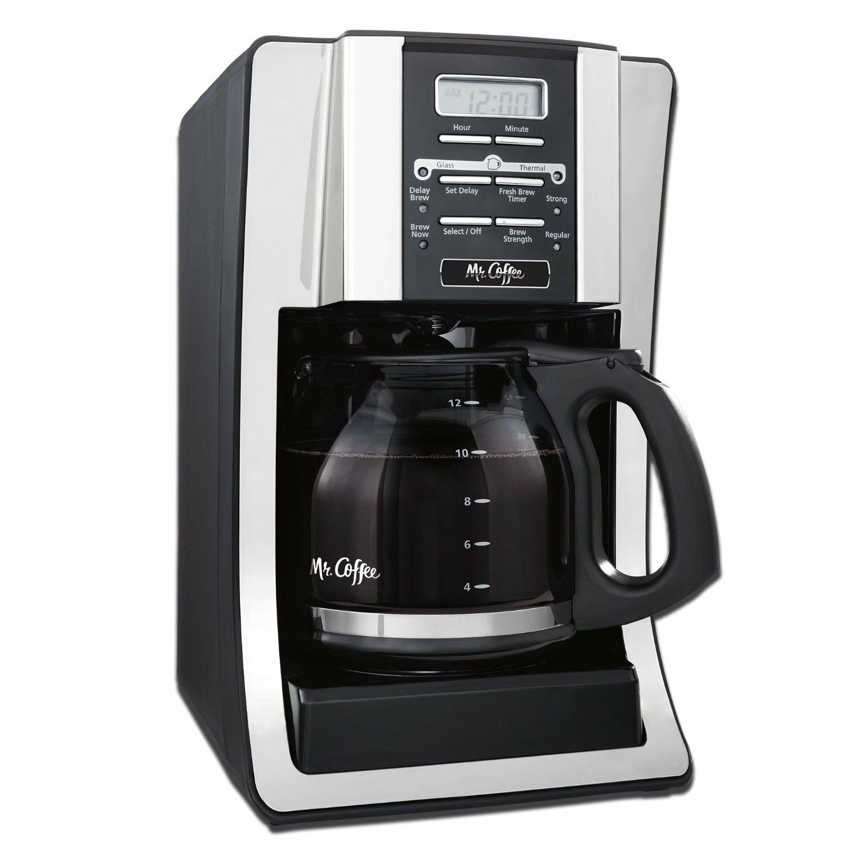 Mr. Coffee BVMC-SJX33GT Programmable Coffeemaker, 12 cups ...