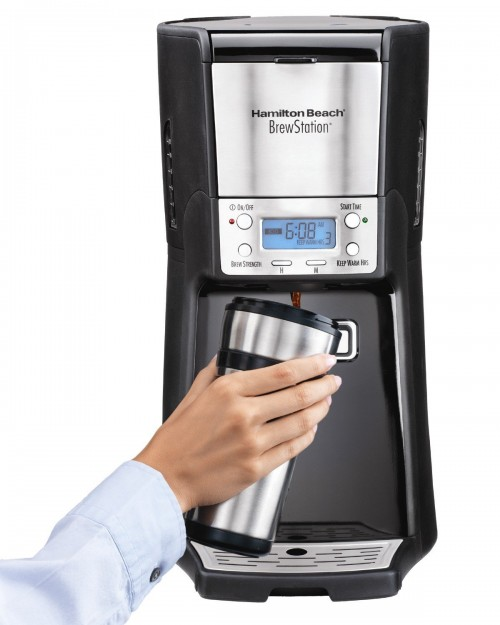 Hamilton Beach 12-Cup Coffee Maker, Programmable Brew station Summit Dispensing Coffee Machine