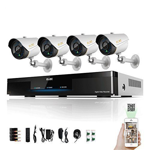 ELEC 4 Channel 960H HDMI CCTV Security Surveillance DVR System