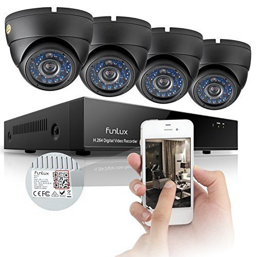 Funlux KS-Y84UH 8-Channel Security Camera System