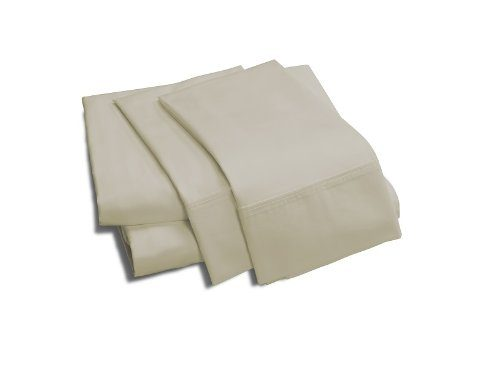 100% Viscose from Bamboo Silky Sheet Set, King, Linen