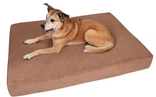 Big Barker 7 Pillow Top Orthopedic Dog Bed for Large and Extra Large Breed Dogs (Sleek Edition)