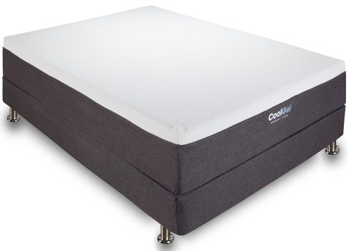 Classic Brands Cool Gel 12 Inch Gel Memory Foam Mattress, Queen Size