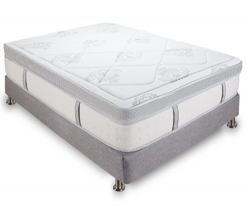 Classic Brands Gramercy 14 Inch Hybrid Cool Gel Memory Foam and Innerspring Mattress, King Size