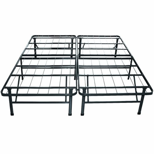Classic Brands Hercules Platform Heavy Duty Metal Bed Frame Mattress Foundation, Queen Size
