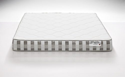 DreamFoam Bedding Ultimate Dreams Full Crazy Quilt with 7-Inch TriZone Mattress