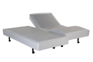 DynastyMattress S-Cape Adjustable Beds Set Sleep System Leggett & Platt, With Luxury 12-Inch Memory Foam Mattress ( SPLIT-KING wSetup)