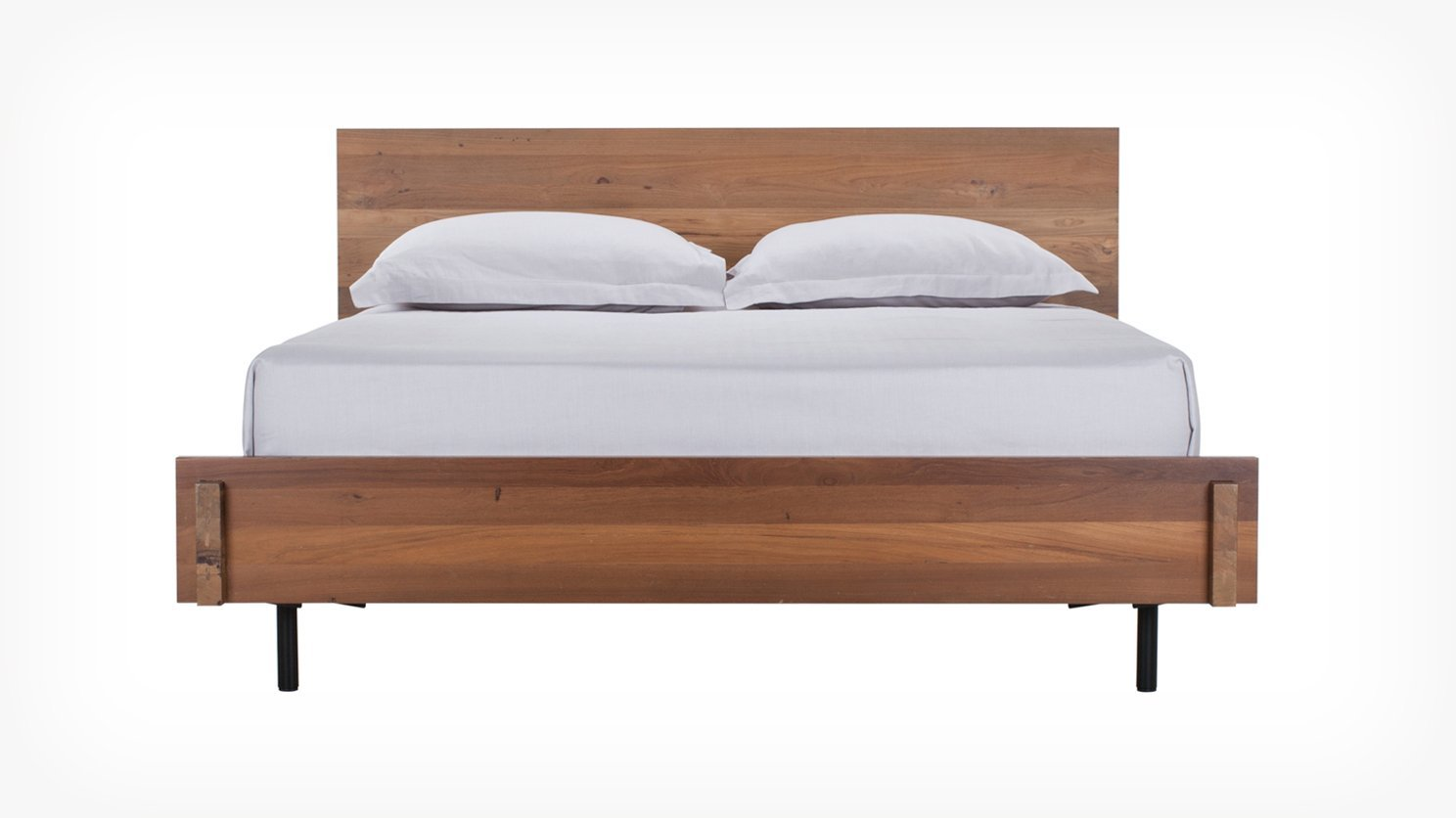 Twin bed top view -  8 In
