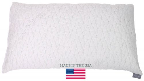 The Adjustable Shredded Memory Foam Pillow with Viscose-Rayon Cover