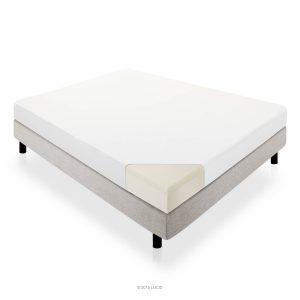 Lucid 10 Memory Foam Dual-Layered Mattress, Full