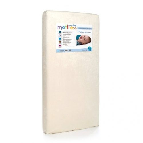 My First Mattress Mattress Premium Memory Foam Crib Mattress with Removable Waterproof Cover