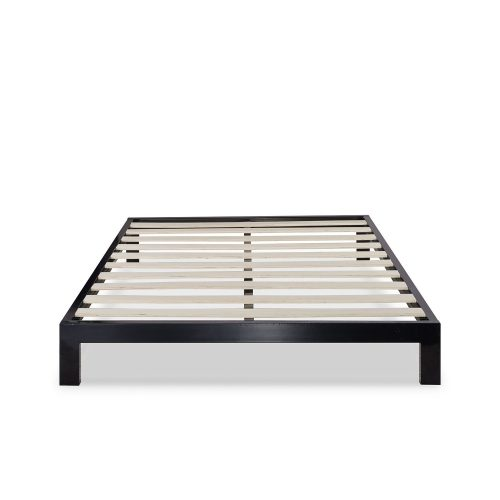 Zinus Modern Studio 10 Inch Platform 2000 Metal Bed Frame Mattress Foundation, no Boxspring needed, Wooden Slat Support, Queen