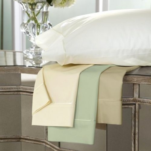 300 Thread Count Bamboo Blend Sheet Set Size Split King, Color Sand