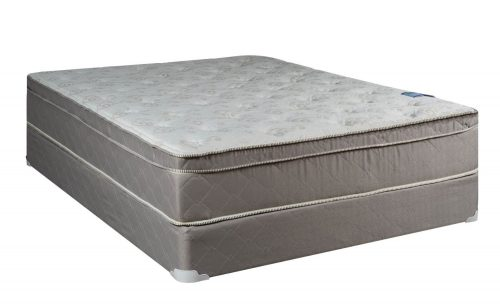 Continental Sleep Mattress, 10 Pillowtop Eurotop , Fully Assembled Orthopedic Queen Mattress and Box Spring,Body Rest Collection