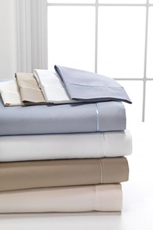 DreamFit 400 TC 100{%} Cotton Sheet Set - King - Snowflake - 304E004 06 5K