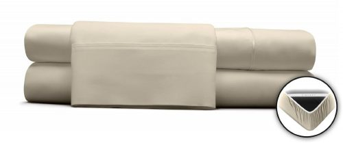 DreamFit 400TC 100{%} DEGREE 4 TRUFFLE QUEEN SHEET SET