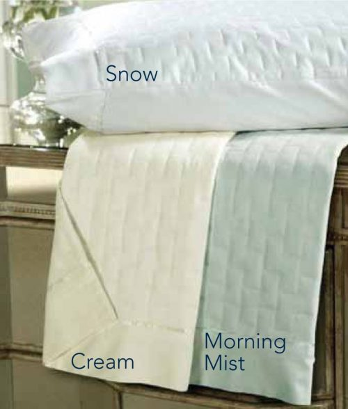 DreamFit 6-Degree Tencel Quilted Ensemble Sheet Set, Queen, Cream