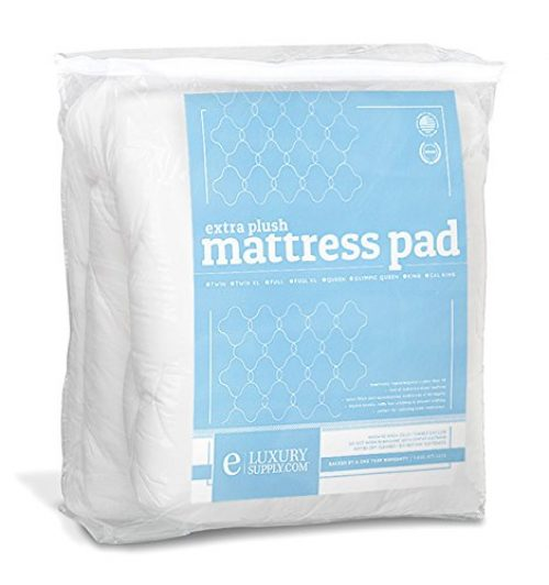 Extra Plush Fitted Mattress Topper - Found in Marriott Hotels - Made in America, King Pad