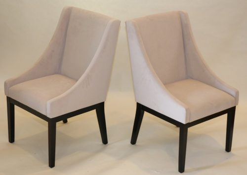 Home Life Contemporary Microfiber Modern Sofa Arm Chairs (Set of 2), Beige