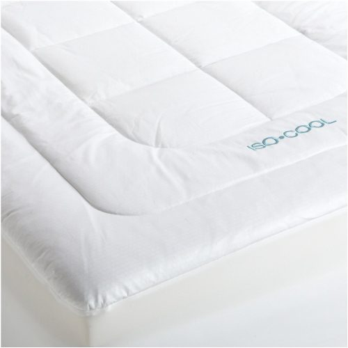 Iso-Cool Memory Foam Mattress Topper with Outlast Cover, Queen