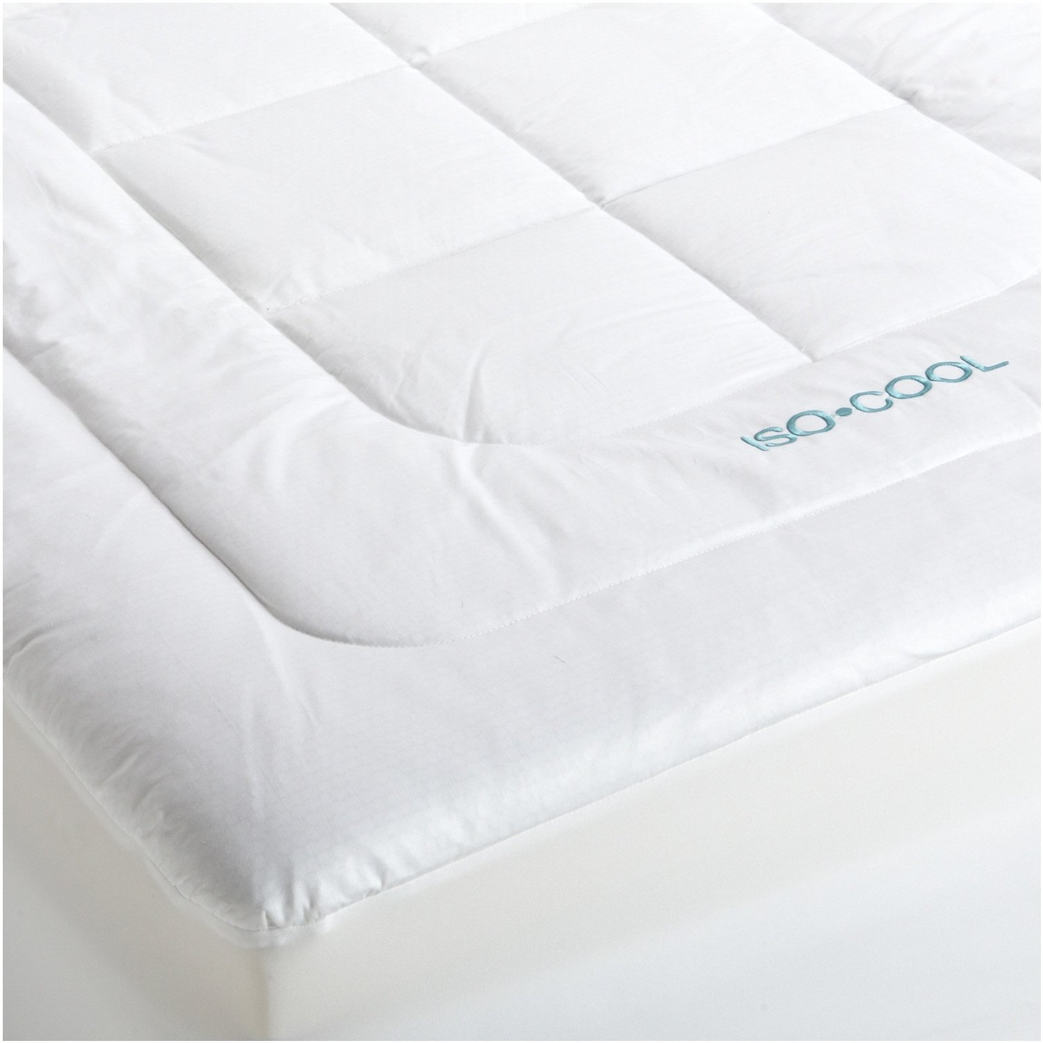 isocool memory foam mattress topper 3 in