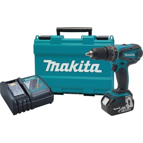 Makita XPH012 18V LXT Lithium-Ion Cordless 1,2-Inch Hammer Driver-Drill Kit with One Battery