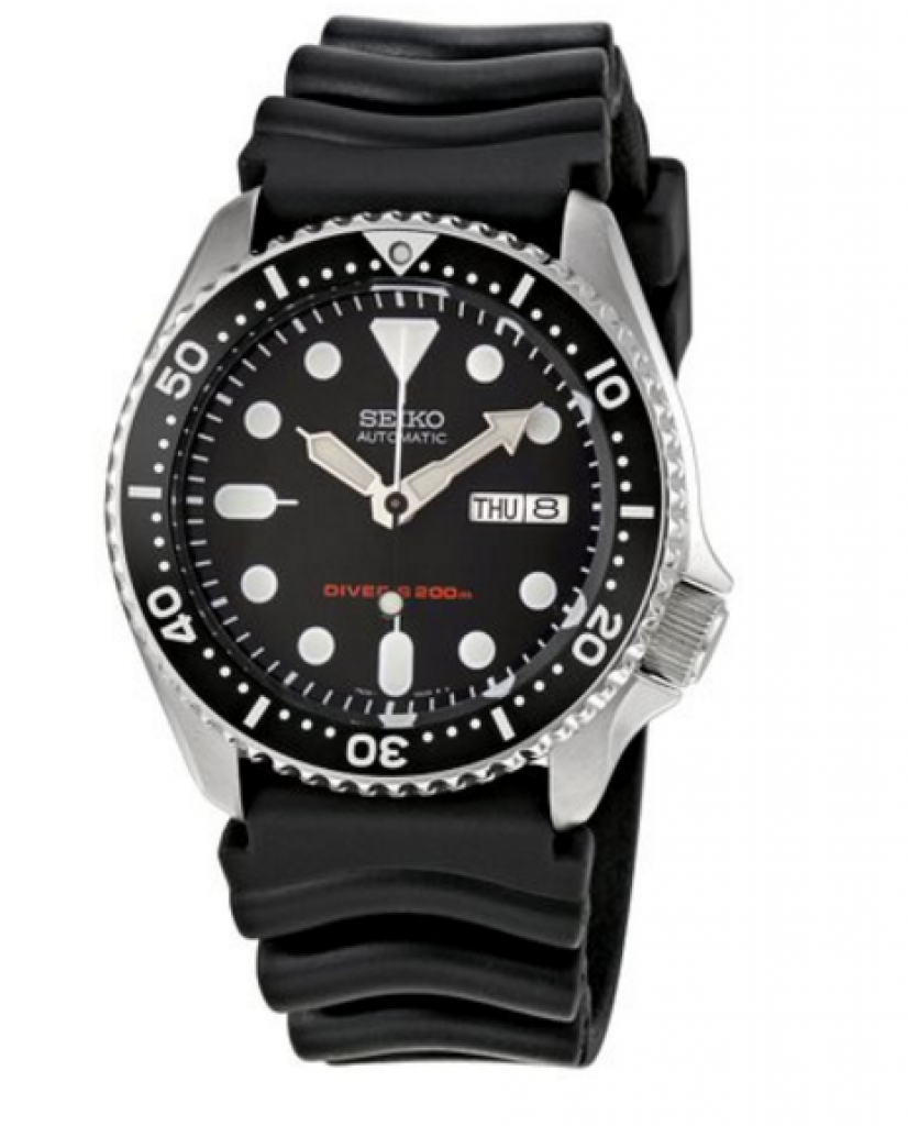 Seiko SKX007K Men's Automatic Watch For Divers