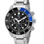 Photo Seiko Men's SSC017 Prospex Solar Stainless Steel Dive Watch