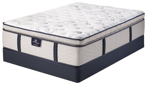 Serta Perfect Sleeper Elite Eastport Super Pillow Top Mattress Hybrid Gel Pocketed Coil (King)