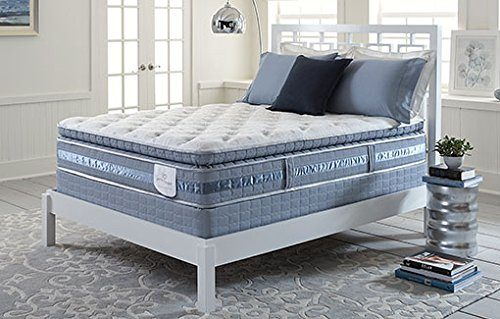 Serta Perfect Sleeper Lakewood Super Pillow Top Mattress Hybrid Gel (Queen Mattress Set)