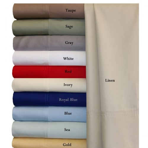 Twin Extra Long White Silky Soft bed sheets 100% Rayon from Bamboo Sheet Set
