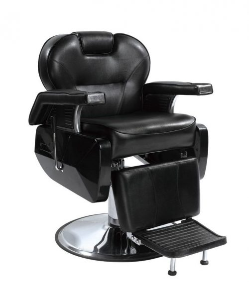 All Purpose Hydraulic Recline Barber Chair Salon Spa White by BestSalon