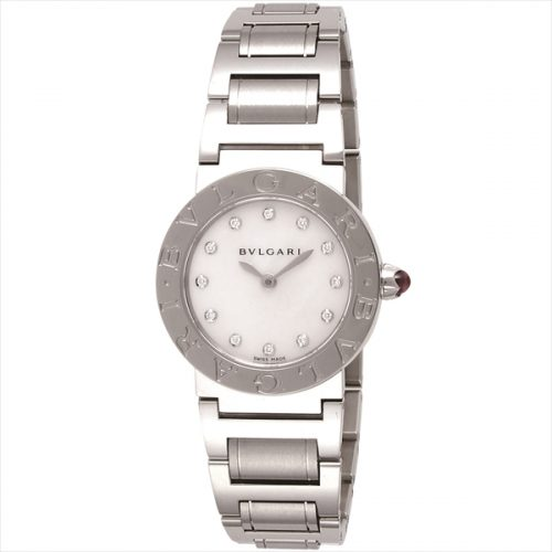 BVLGARI watch Bulgari Bulgari white pearl dial BBL26WSS 12 Ladies