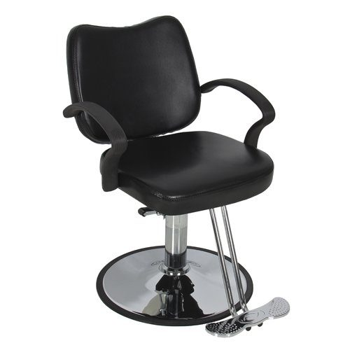 Best Choice Products® Hydraulic Barber Chair Styling Salon Work Station Chair Black Modern Design New