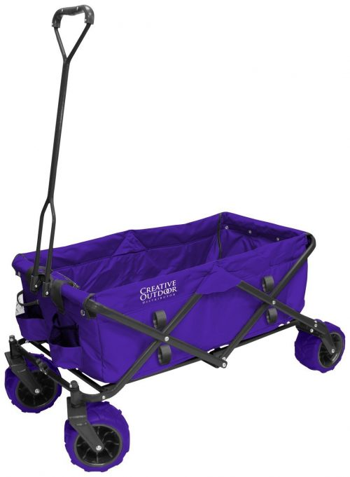 Big Wheel All Terrain Outdoor Beach & Garden Folding Utility Wagon