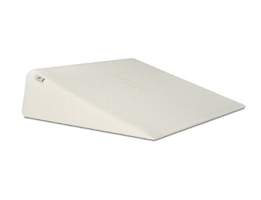 Brentwood Home Zuma Therapeutic Foam Wedge Pillow, Made in USA, 12-inch