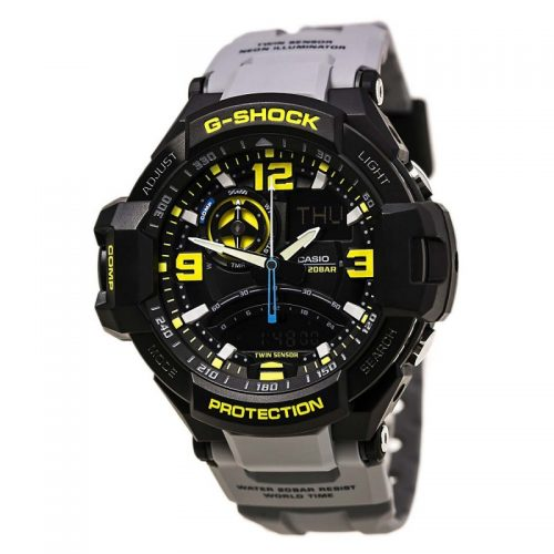 Casio G-Shock GA-1000-8A Aviation Series Men's Luxury Watch - Grey One Size