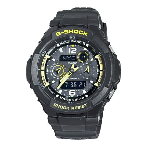 Casio Men's GW3500B-1A G-Shock Aviator Analog-Digital Watch