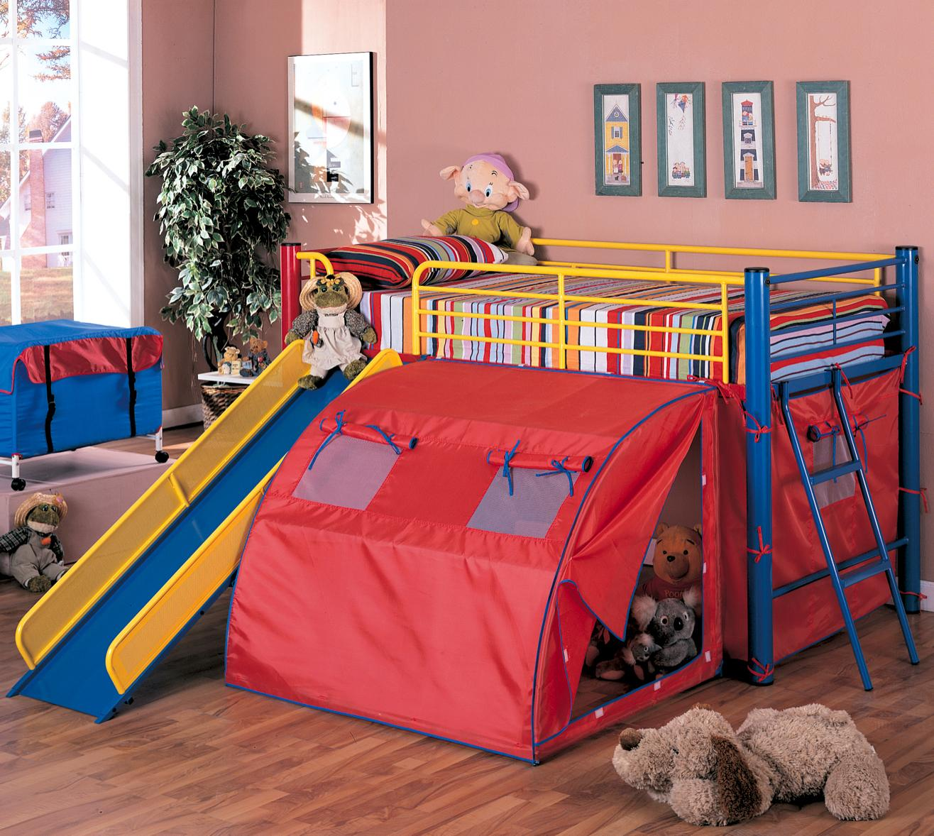 bunk bed with slide and desk. Coaster\u0027s Bunk With Slide, 115 X 100 50 In Bunk Bed Slide And Desk C