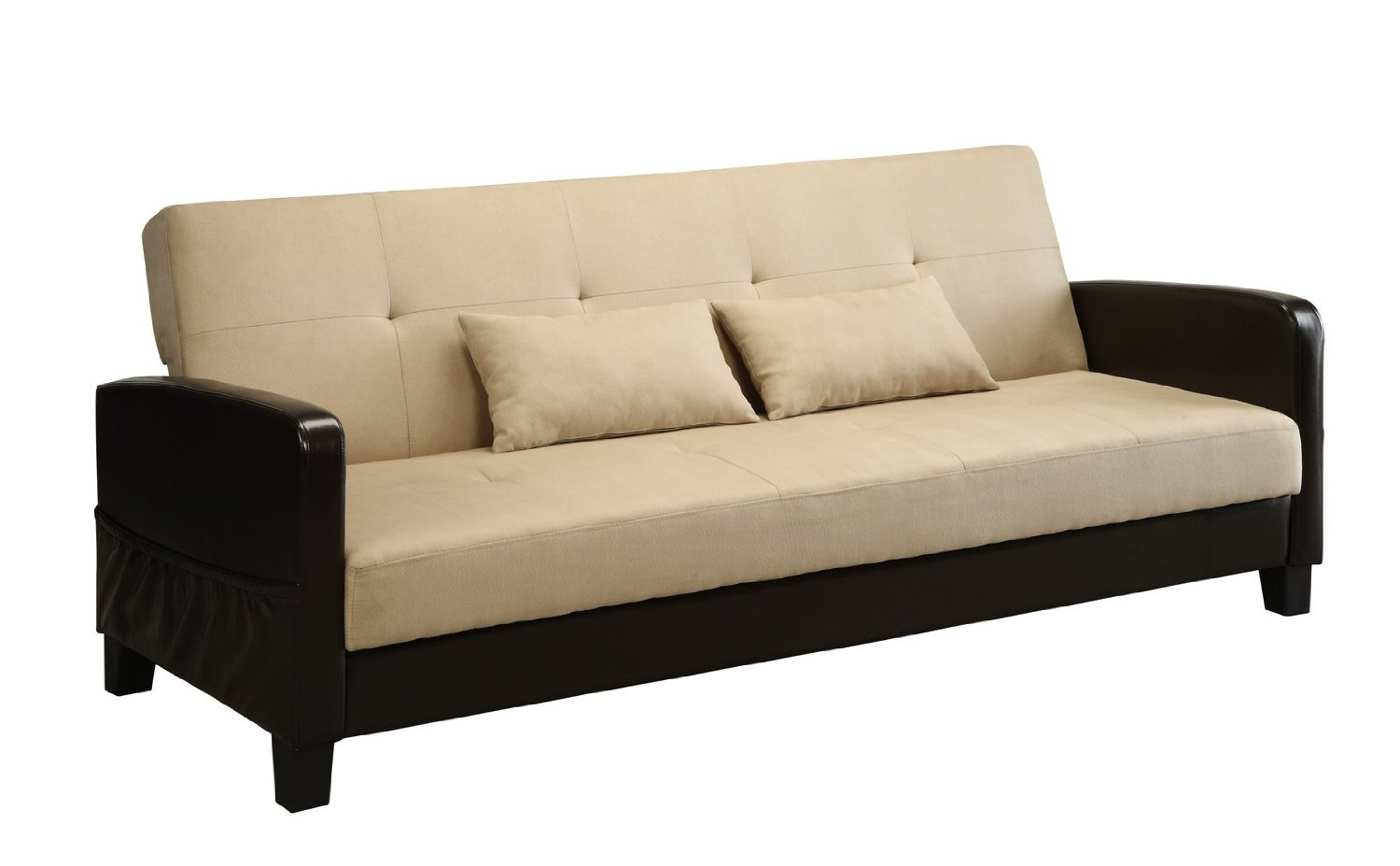 DHP Vienna Sofa Sleeper With 2 Pillows ...