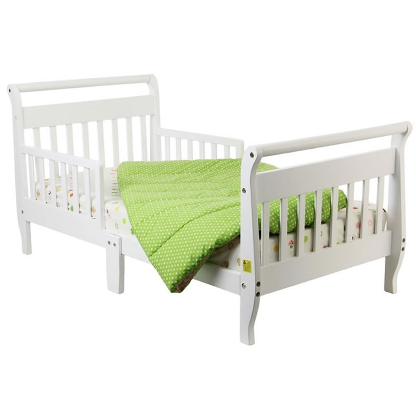 Dream On Me Classic Sleigh Toddler Bed, 57 X 30 X 28 In ...