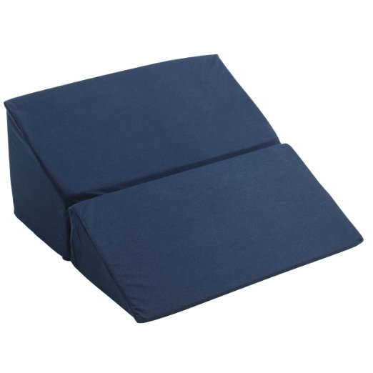 Drive Medical Folding Bed Wedge, 12 Inch, Blue