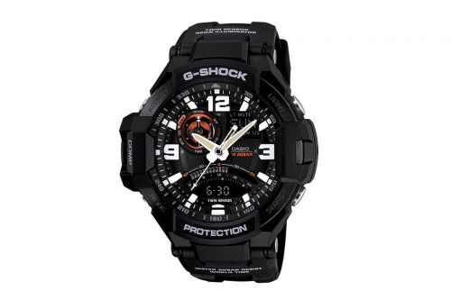 G-Shock GA-1000-1A Aviation Series Men's Luxury Watch - Black One Size