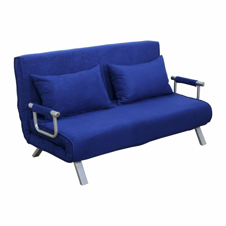 Homcom Couch Folding Futon Sleeper Sofa Bed 59 X 28 14 In