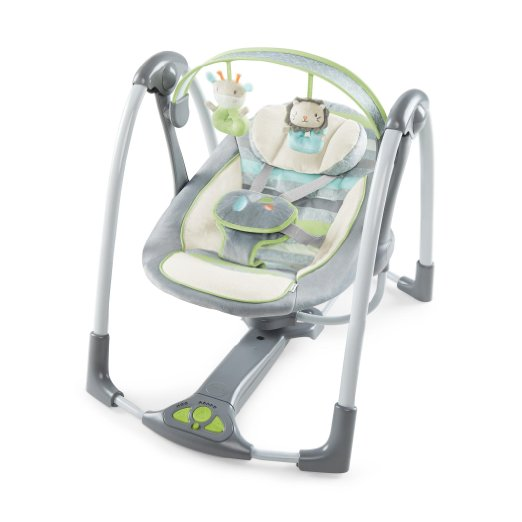 Ingenuity Power Adapt Portable Swing, VesperGrey