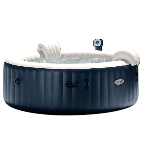 Intex Portable 6-Person Inflatable PureSpa Plus Bubble Spa - 28409E