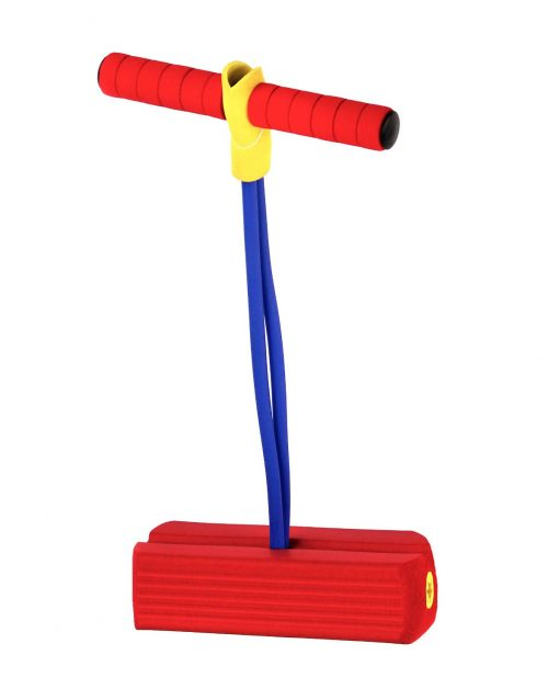 Kidoozie Foam Pogo Jumper - Fun and Safe Play - Encourages an Active Lifestyle - Makes Squeaky Sounds - For All Sizes, 250 Pound Capacity