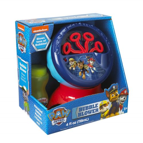 Little Kids PAW Patrol Motorized Bubble Machine (Includes 4 fl oz of bubble solution)