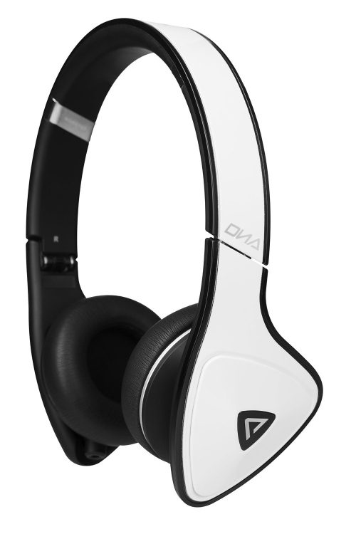 Monster DNA On-Ear Headphones (White Tuxedo)