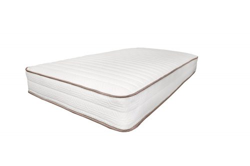 My Green Mattress Pure Echo Luxe with Lumbar Support Organic Cotton Natural Mattress (Two-Sided) (Queen)